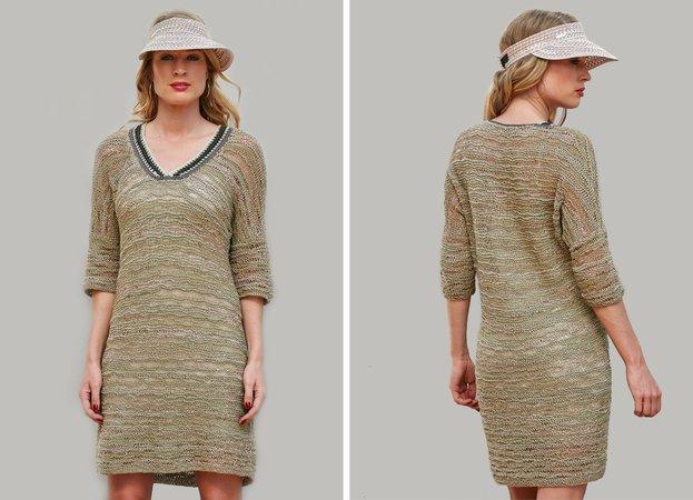 Strickanleitung Luftiges Kleid Rika
