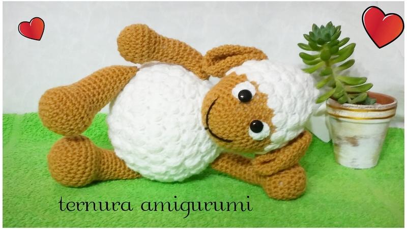 Crochet Pattern Of Sheep Lamb Pdf English Deutsch Dutch