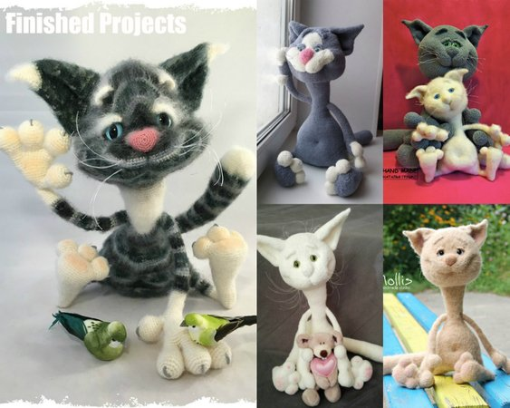 Thomas Cat the Ami - Amigurumi Crochet Pattern   450x563