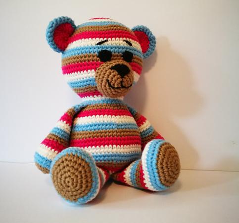 Häkelblog - Häkelanleitungen: Tigger (Winnie the Pooh ... | 450x483