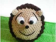 Hedgehog crochet pattern PDF english-deutsch-dutch