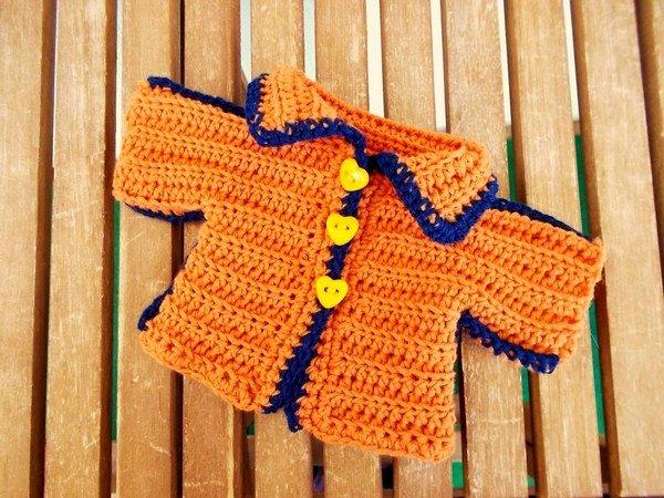 Jacke für Teddys und Puppen 20-25 cm - Häkelanleitung