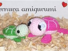 Crochet pattern of the Turtle family PDF english-deutsch-dutch