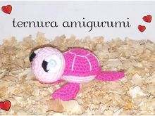Tortoise crochet pattern PDF english-deutsch-dutch