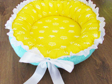 Round Babynest for newborn, baby nest sleep bed,baby cocoon, sleep nest, newborn baby nest. Three Sizes.