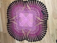 Tischläufer Häkeln Spiralform Häkeln