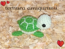 Tortoise turtle crochet pattern PDF english-deutsch-dutch