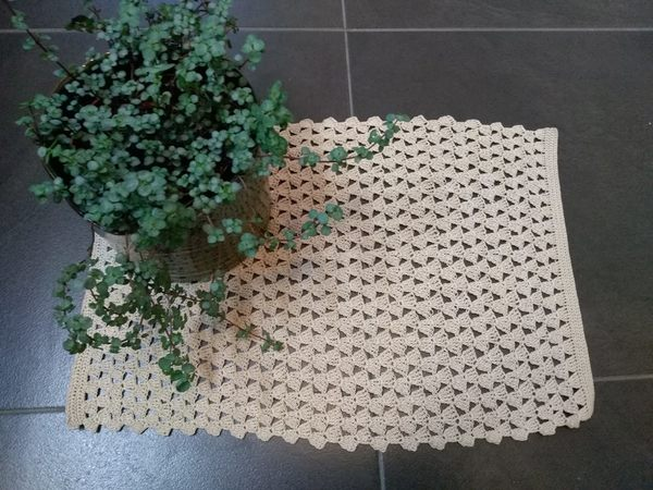 Deckchen Gehäkelt