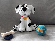Dotty the dog crocheting pattern