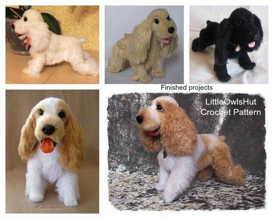 Crochet... Amigurumi : Mini Sausage Dog | 450x563