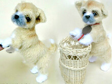 106 Crochet Pattern - Shih Tzu puppy dog - PDF file Amigurumi by Chirkova CP