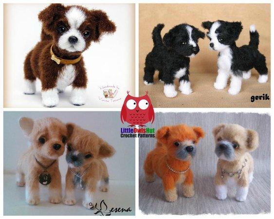 Dog Crochet Pattern Pinterest Top Pins - The WHOot | 450x563