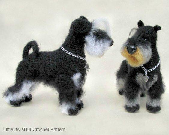 Amigurumi Yorkshire Terrier 'YORKIE'- Free Crochet Pattern | 450x563