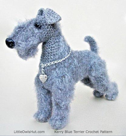 Crochet amigurumi Yorkshire terrier plush yorkie dog | Etsy | 450x415
