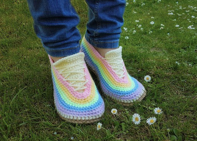 Crochet pattern sneaker No 3