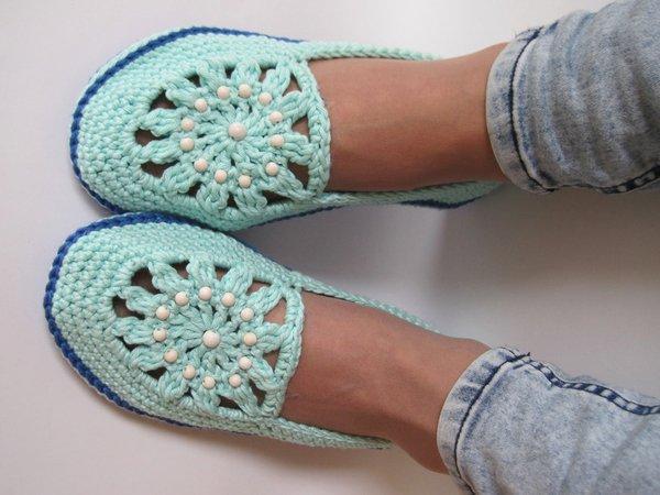 Hausschuhe Häkeln Damen Schuhe Häkeln