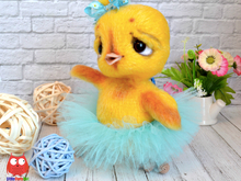 199 Crochet Pattern - Little Chicken Balarina - Amigurumi soft toy PDF file by Ogol CP