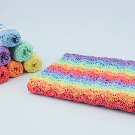 Rainbow Babydecke