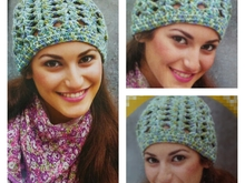 pattern Crochet hat PDF english-deutsch-dutch