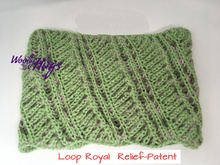 Loop Royal - Relief-Patent - mit 2 Knäuel Woolly Hugs SHEEP