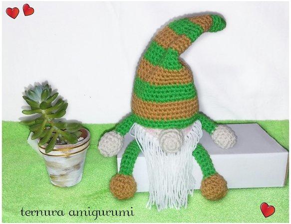 Crochet Pattern Gnome Pdf English Deutsch Dutch