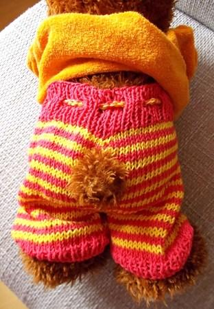 Ringelhose Für Teddys Puppen 40 Cm Strickanleitung