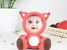 Crochet Pattern of Photo Frame FOX
