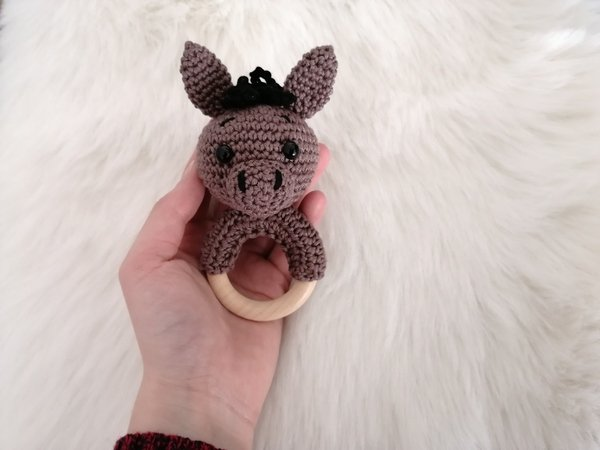 Elephant in hot air balloon crochet pattern amigurumi nursery | Etsy | 450x600