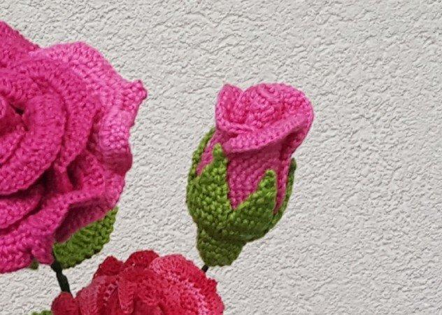 Rosen häkeln / Blumen häkeln / wunderbar