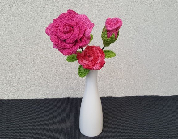 Rosen Häkeln Blumen Häkeln Wunderbar