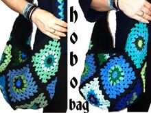 crochet Pattern *HoBo BaG GrannY SquarE* us-english bagpattern