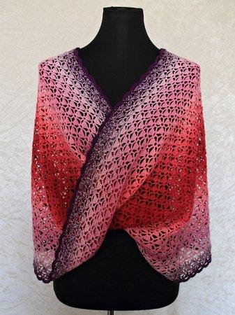 Crochet Pattern Cowl Infinity Scarf Moebius Scarf Stephanie