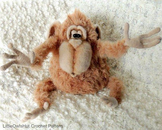 Ravelry: little monkey pattern by ternura amigurumi | 450x563