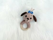 Dog Rattle - Crochet Pattern