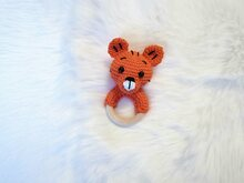 Tiger Rattle - Crochet Pattern