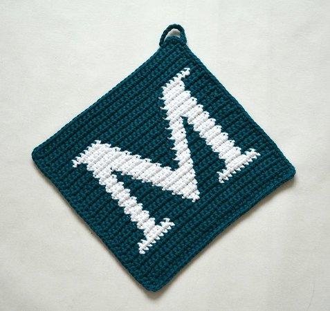 letter V | Crochet letters, Crochet letters pattern, Crochet alphabet | 450x477