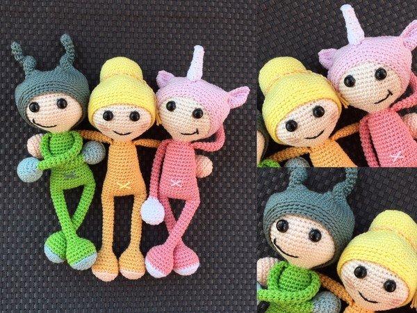 Amigurumi Häkeln Sparset Amigurumi Puppen