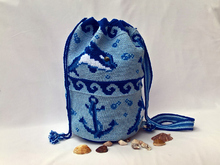 Crochet Pattern Backbag Maritime