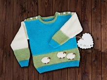 Baa Baa Sweater Jumper 0 - 6 years