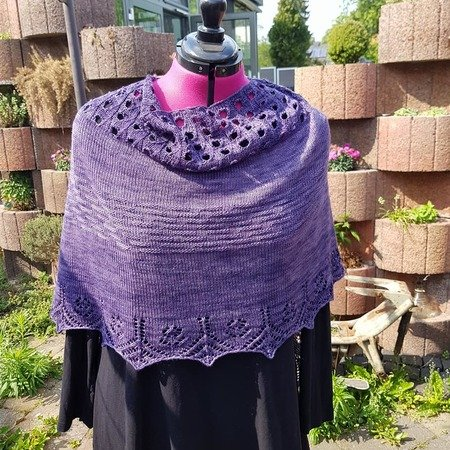 Cool Temptation gestrickter Poncho
