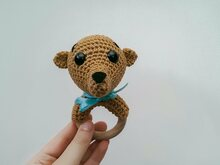 Meerkat Rattle - Crochet Pattern