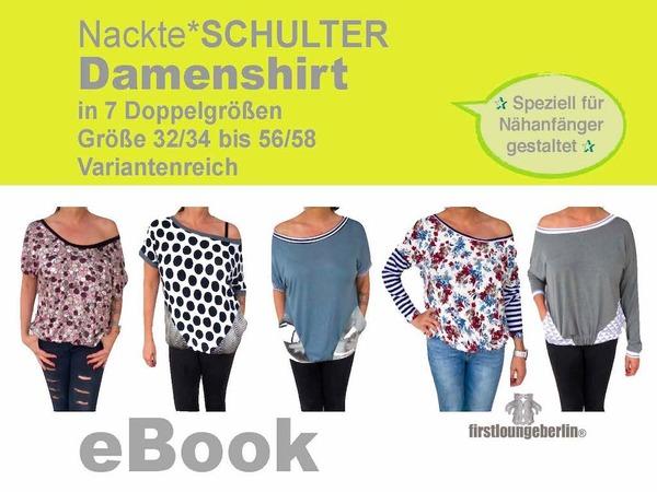 Shirt nähen // Damen-Shirt / Gr. 32/34-56/58