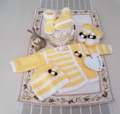 BunnyKids Honey Baby Set  (1 - 12 months) - (Series 2)