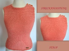 Strickanleitung * Top * Chunky.Look * Gr. S,M,L