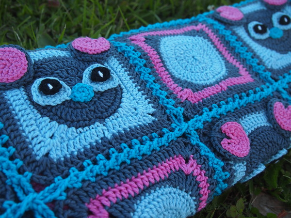 Ohana Afghan or Mickey Stitch Baby Blanket crochet pattern
