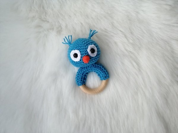 Owl Rattle - Crochet Pattern