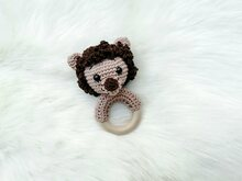 Lion Rattle - Crochet Pattern