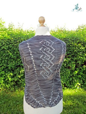Strickanleitung Grey Shawl