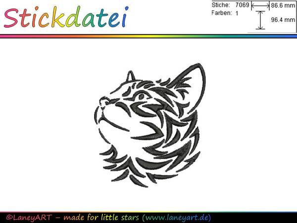 Katzenkopf Malen Kinder