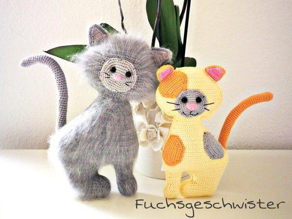 Katze Häkeln Kätzchen Süß Und Lieb